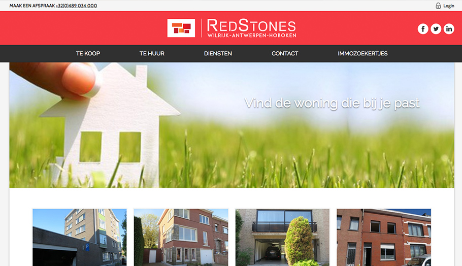 Redstones | Design & HTML